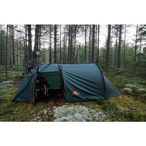This tent is concidered to be classic for Europe especially in Scandinavian countries. The tent construction is called semi-barrel.  sc 1 st  Alexika & Semi-barrel tent TUNNEL 3 - Alexika - Der Outdoor-Shop